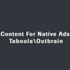 Content For Native Ads (Taboola\Outbrain)