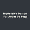 Impressive Design For About Us Page