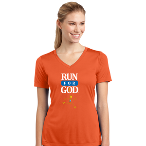 Ladies V-Neck Competitor Tee