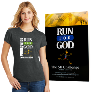 Worldwide Challenge 2019 Tee/Book/Virtual Bundle