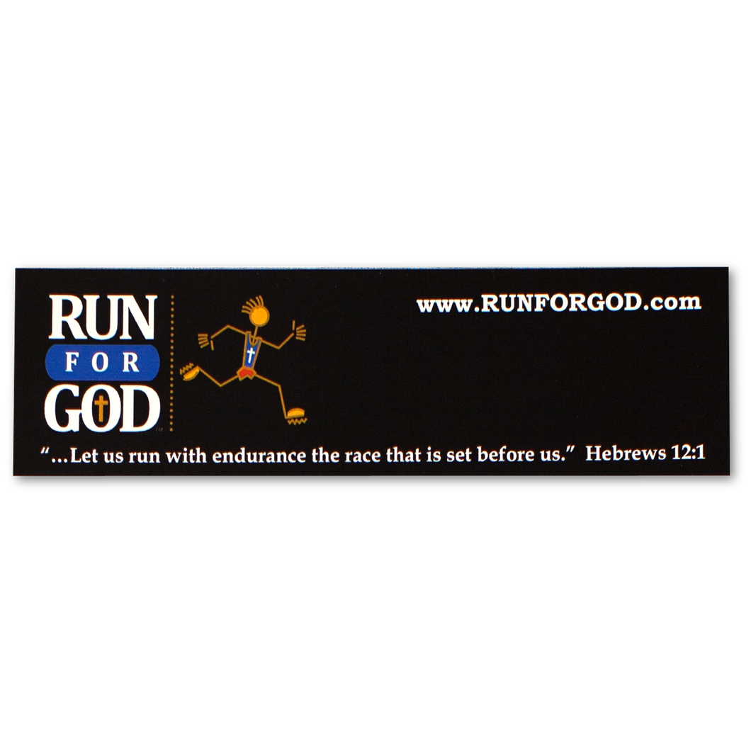 Run for God Bookmark