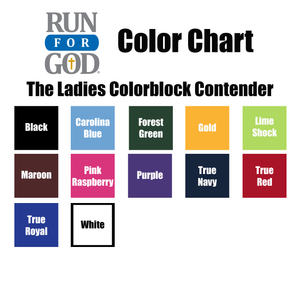Ladies Colorblock Contender Tee