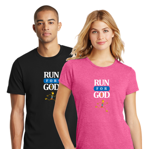 The Run for God Tee