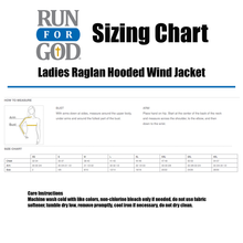 Ladies Raglan Hooded Wind Jacket