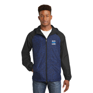 Raglan Hooded Wind Jacket