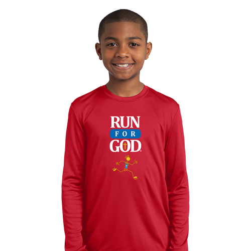 Youth Competitor Tee LS