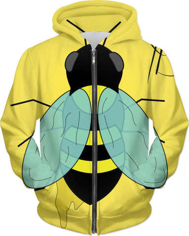 Pollinated - Zip Up Hoodie