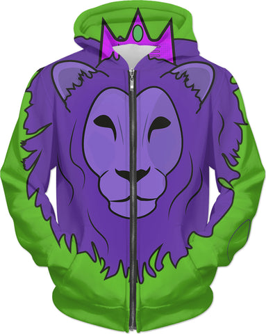 King Lion - Zip Up Hoodie