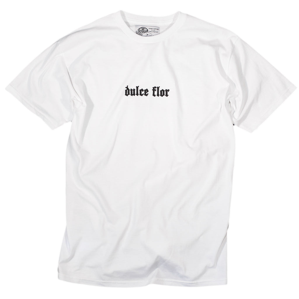 White Dulce Flor Tee