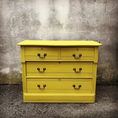 dresser by Eastcote Lane in Autentico Paint Brazilian Bird