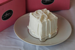Strawberries 'n Cream Personal Box Cake