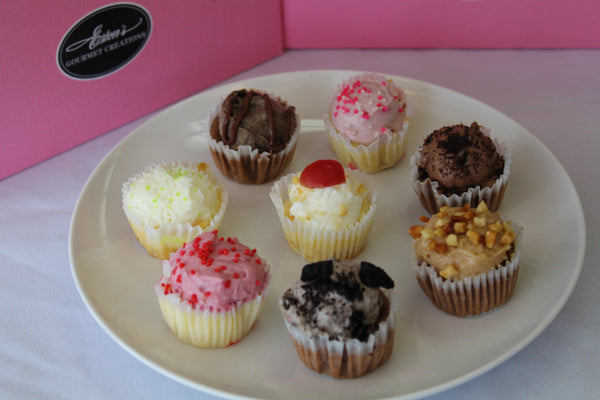 Mini Cheesecake Cupcake Sampler
