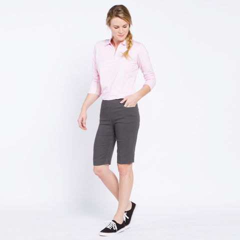 Slimsation Golf Walking Short - Charcoal