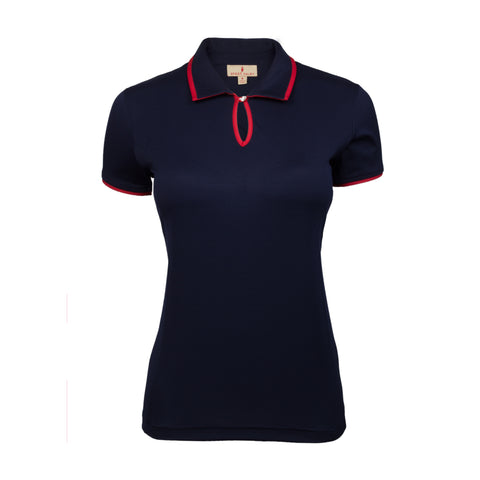 Ivy Short Sleeve Solid Polo