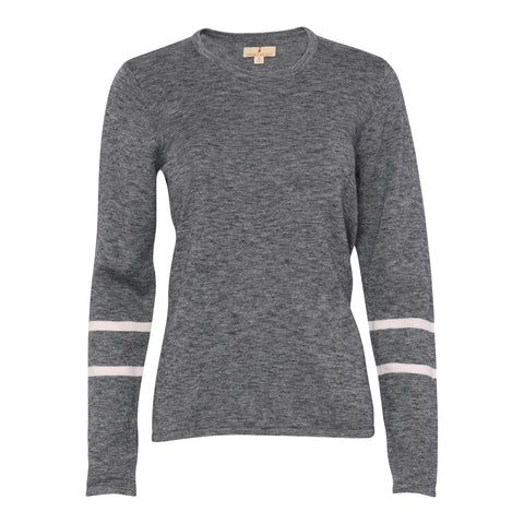 Charlene Long Sleeve Melange Sweater
