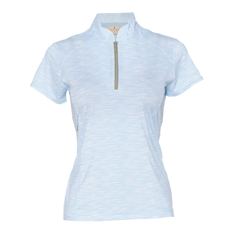 Elina Short Sleeve Polo