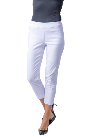 Slimsation Skinny Crop - White