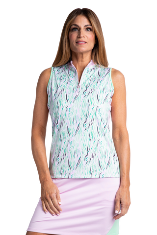 Joanna Sleeveless Polo
