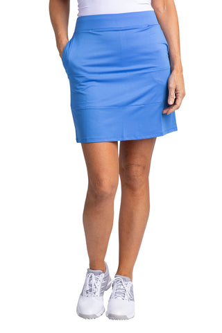 Hailey Skirt - Vista Blue