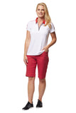 Sheara Short Sleeve Solid Polo