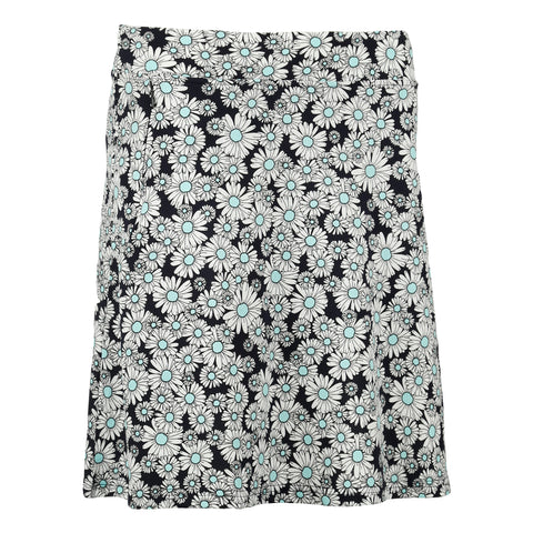 "Aster ""Haley Cool"" Printed Jersey Skirt"