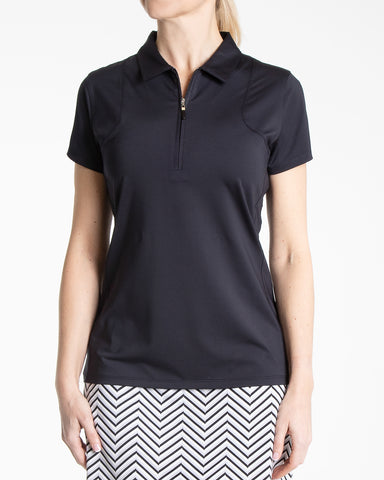 Aria Polo- Black