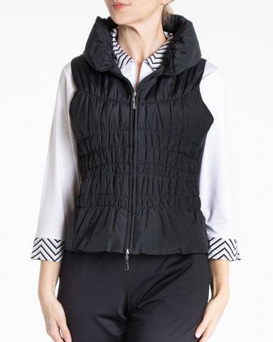 BLAIR Zip Vest - Black