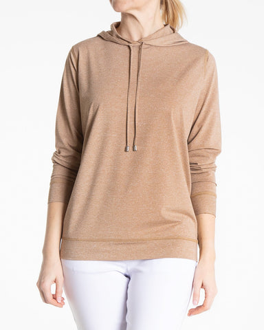 BALLET Long Sleeve Pullover - Latte