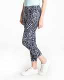 Slimsation Print Skinny Crop - Multi Animal