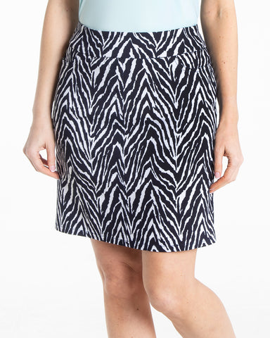 Slimsation Golf Print Skirt - Multi Animal