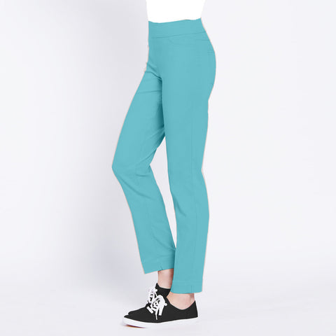 Slimsation Golf Ankle Pant- Aqua