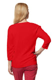 Cara Sweater - Scarlet