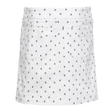 Slimsation Golf Skort - White Print