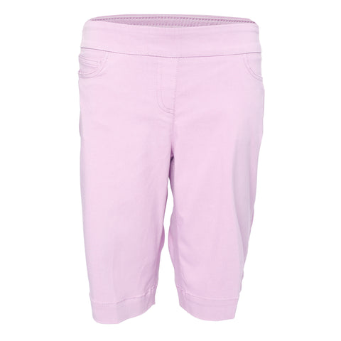 Pull-On Solid Golf Walking Short - Orchid