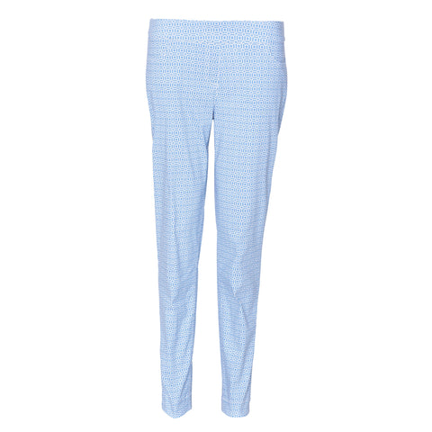 Slimsation Golf Ankle Pant - Azure Print
