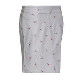 Slimsation Print Golf Skort - Flamingo