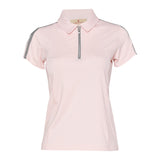 Adrienne Short Sleeve Solid Polo