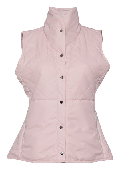 Tatum Snap Front Quilted Vest