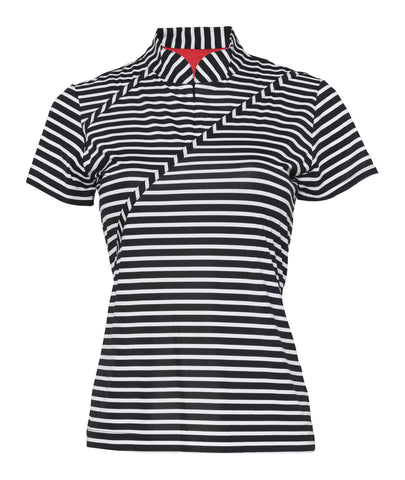Vivian Short Sleeve Striped Polo