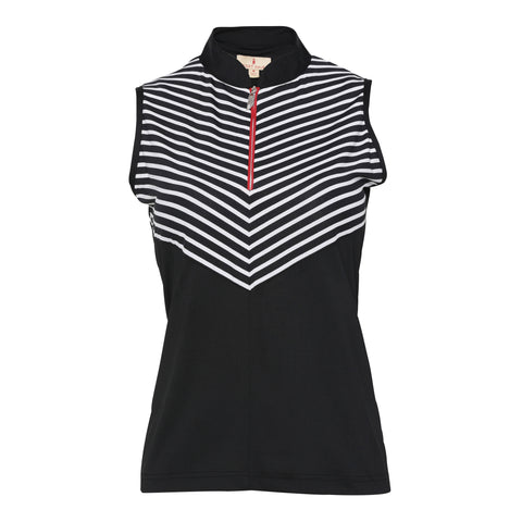 Loraine Sleeveless Polo
