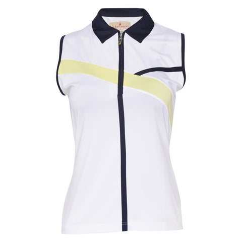 Olivia Sleeveless Polo