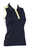 Addison Sleeveless Polo