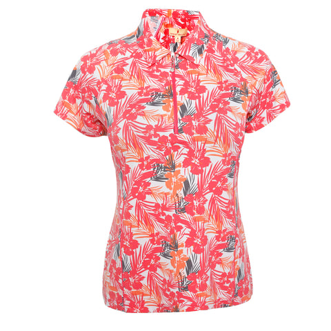 Flora Short Sleeve Polo