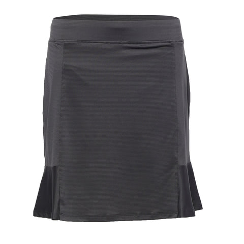Ellie Pull On Skirt - Charcoal