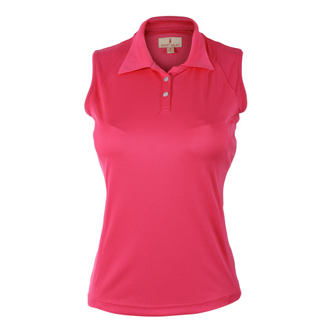 Brooke Sleeveless Solid Polo