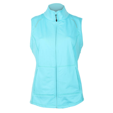 Leah Full Zip Brushed Vest