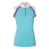 "Melita ""Haley Cool"" Sleeveless Polo"