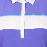 "Miri ""Haley Cool"" Colorblock Polo"