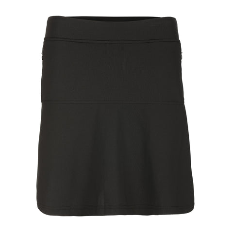 "Oula ""Haley Cool"" Pull On Solid Skirt With Flare"
