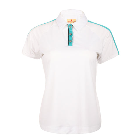Cleo Short Sleeve Solid Polo